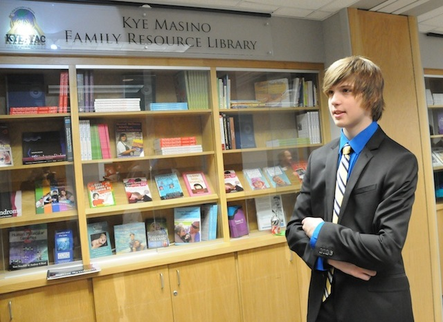 HOT SPRINGS TEEN DONATES $30,000 TO OPEN UAMS GENETICS LIBRARY