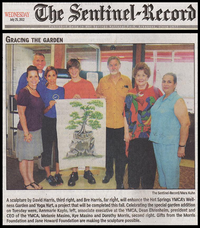 Kyeac sponsors YMCA garden Yert