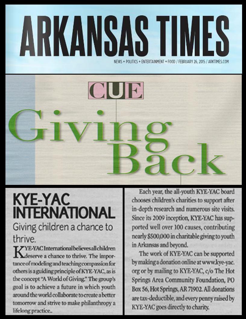 Ark Times kyeyac