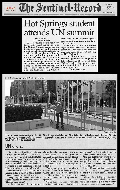 sentinel KY @ UN