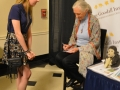 Amanda and Dr. Jane Goodall