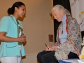 Tejaswi and Dr. Jane Goodall