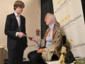 Kye and Dr. Jane Goodall