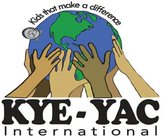 Kye-Yac logo with Earth