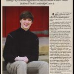 "Kye Appointed To Dr. Jane Goodall's Roots And Shoots National Youth Leadership Council - ""On The Go"" Magazine"