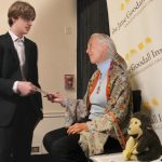 Kye Inspired By Meeting Dr. Jane Goodall In Washington, D.C.