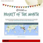 KYE-YAC's Roots & Shoots Group Is Honored To Receive January's Project Of The Month