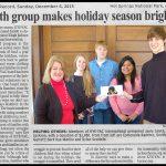Youth Group Makes Holiday Season Brighter