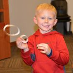 More Fun At Mid America Science Museum Tinkering Studio Making Hoop Gliders