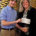 Kye Presents Check To First Step For The 2012 Walk For Children