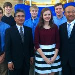 Student Delegates Meet Japanese Dignitary?